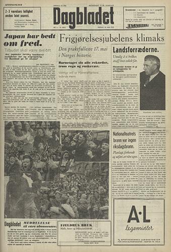 1945 – 18. mai