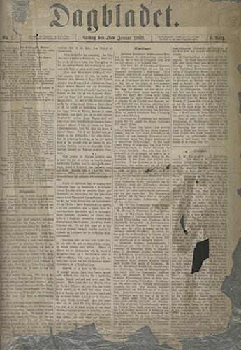 1869 – Første utgave fra arkivet