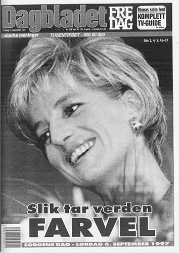 Prinsesse Diana omkommer i bilulykke