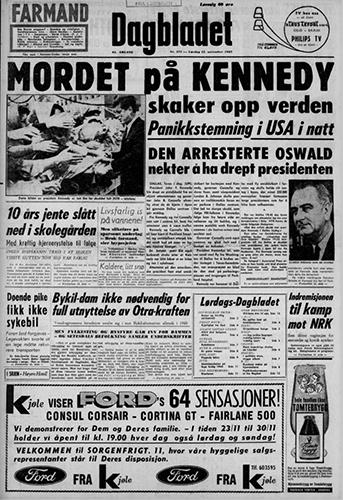 1963 – Attentatet mot John F. Kennedy