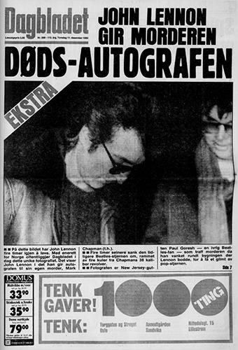 1975 – 1980 – John Lennon ble skutt