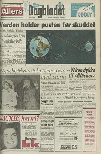 1969 – Månelandingen