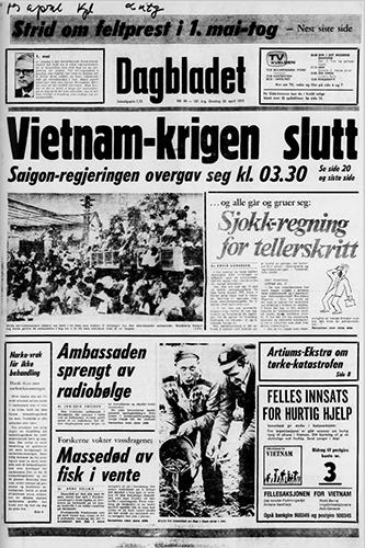 1975 – Vietnamkrigens slutt